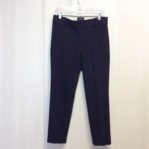 J.Crew Size 4 Cameron Blue Stretch Slim Pants